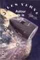 Couverture Voyage lunaire, tome 2 : Autour de la lune Editions Le Livre de Poche 1966