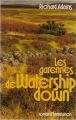 Couverture Les Garennes de Watership Down / Watership Down Editions Flammarion 1976