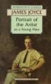Couverture Le portrait de l'artiste en jeune homme Editions Wordsworth 1992