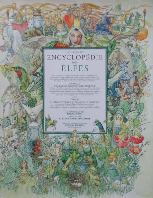 Couverture La grande Encyclopédie des Elfes