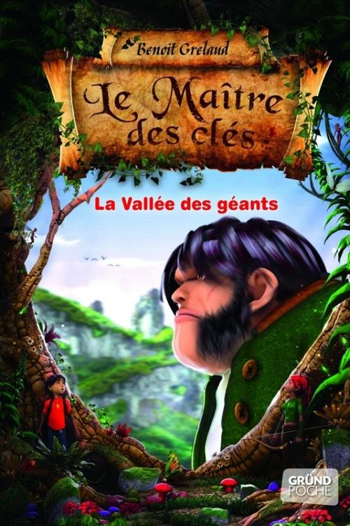 Couverture Le maître des clés, tome 5 : La Vallée des géants