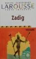Couverture Zadig / Zadig ou la destinée Editions Larousse (Petits classiques) 2002