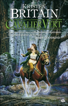 Couverture Cavalier Vert, tome 1
