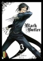 Couverture Black Butler, tome 03 Editions Kana (Dark) 2010