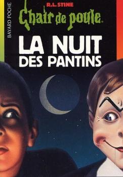 Couverture Chair de poule, tome 02 : La Nuit des pantins
