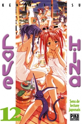 Couverture Love Hina, tome 12