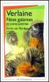 Couverture Fêtes galantes et autres poèmes, écrits sur Rimbaud Editions Flammarion (GF) 1998