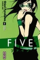 Couverture Five, tome 02 Editions Kana (Shôjo) 2009