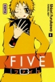 Couverture Five, tome 03 Editions Kana (Shôjo) 2009