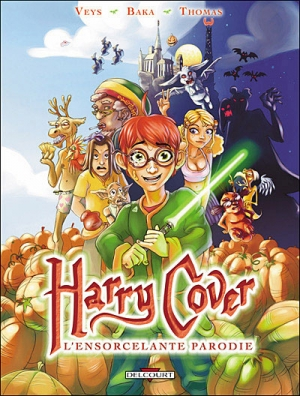 Couverture Harry Cover, tome 1 : L'Ensorcelante parodie