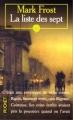 Couverture La liste des sept Editions Pocket 1997