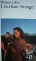 Couverture L'étudiant étranger Editions Folio  1994