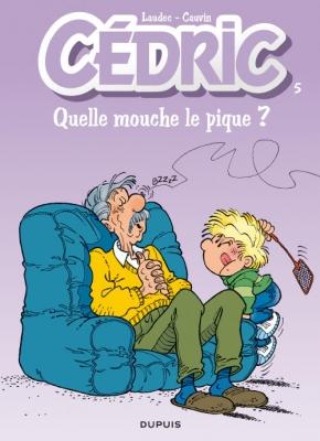 Couverture Cédric, tome 05 : Quelle mouche le pique ?