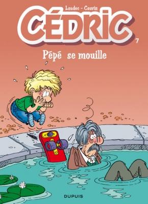 Couverture Cédric, tome 07 : Pépé se mouille