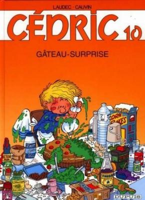 Couverture Cédric, tome 10 : Gâteau-surprise