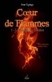 Couverture Coeur de flammes, tome 1 : Le visage de l'ombre Editions Plumes solidaires 2014