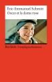 Couverture Oscar et la dame rose Editions Reclam 2004