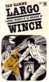 Couverture Largo Winch (Roman), tome 1 : Le Groupe W Editions Gallimard  (Carré noir) 1982