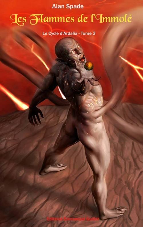 Couverture Le Cycle d'Ardalia, tome 3 : Les flammes de l'immolé