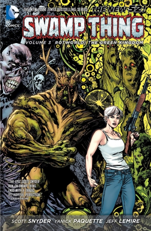 Couverture Swamp Thing, book 3: Rotworld The Green Kingdom
