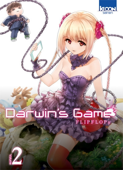 Couverture Darwin's Game, tome 02