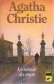 Couverture Le miroir du mort / Poirot résout trois énigmes Editions Librairie des  Champs-Elysées  (Le club des masques) 1970