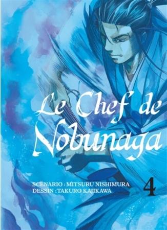 Couverture Le chef de Nobunaga, tome 04