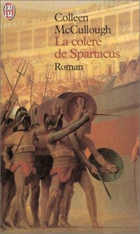 Couverture La Colère de Spartacus