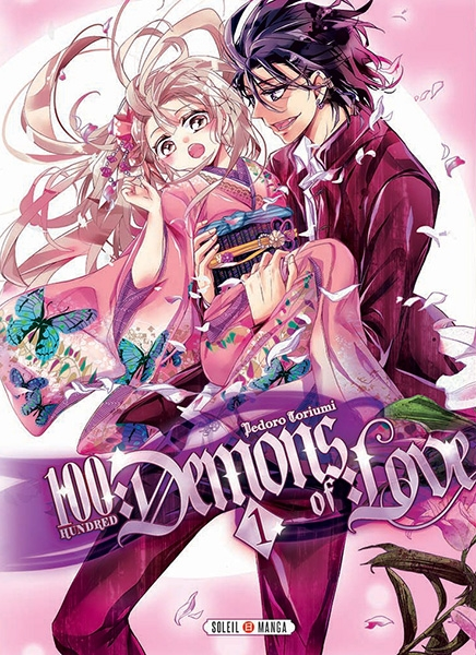 Couverture 100 demons of love, tome 1