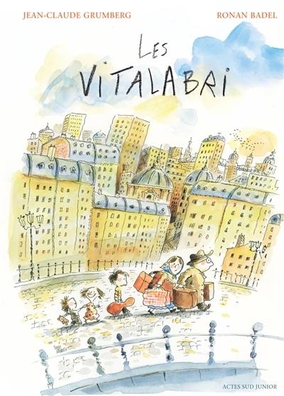 Couverture Les Vitalabri