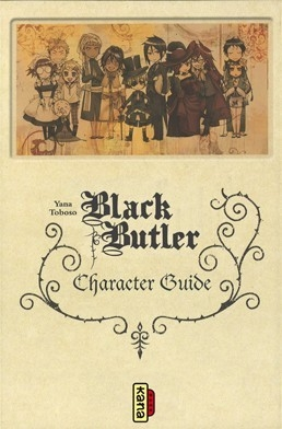 Couverture Black Butler : Character Guide