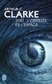 Couverture 2001 : L'odyssée de l'espace Editions J'ai lu (S-F) 2014