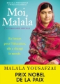 Couverture Moi, Malala (McCormick) Editions Hachette 2014