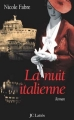 Couverture La nuit italienne Editions JC Lattès 2006