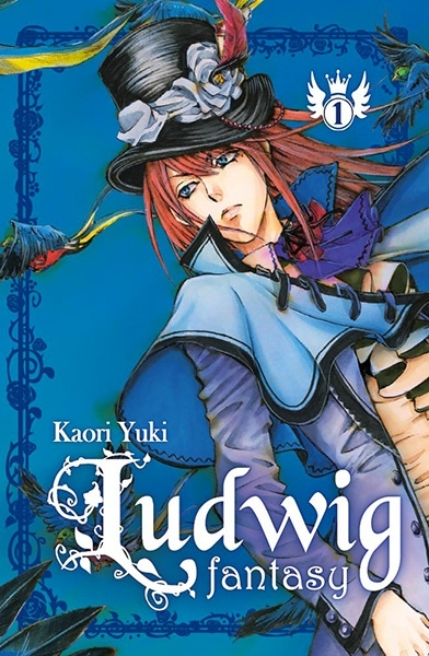 Couverture Ludwig Fantasy, tome 1