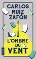 Couverture L'Ombre du vent Editions Pocket 2014