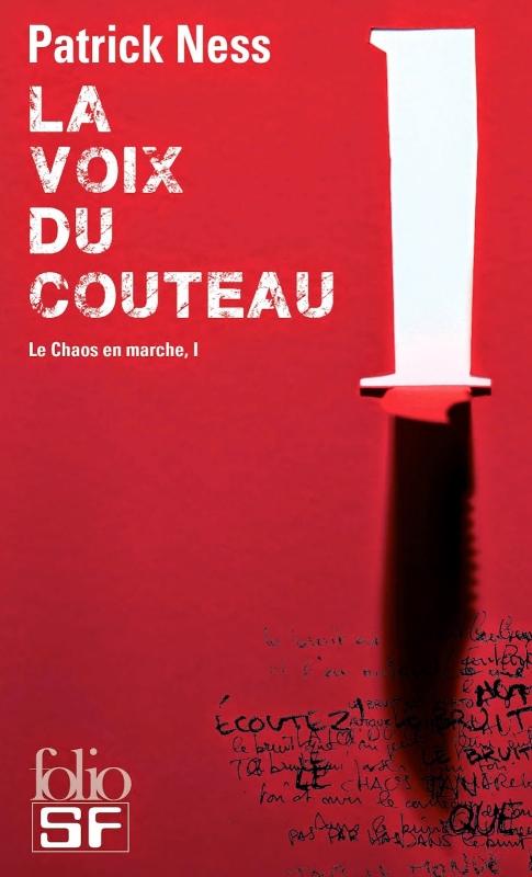 Couverture Le chaos en marche, tome 1 : La voix du couteau