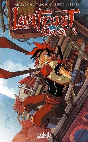 Couverture Lanfeust Quest, tome 3