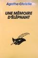 Couverture Une mémoire d'éléphant Editions Le Masque 1993