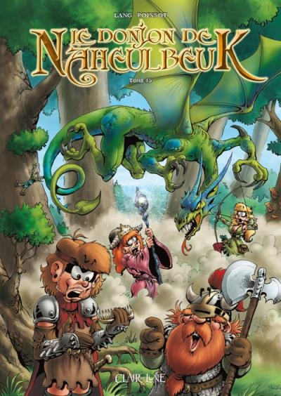 Couverture Le donjon de Naheulbeuk (BD) - Premier Cycle, tome 15 : Cinquième saison, partie 2