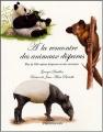 Couverture A la rencontre des animaux disparus Editions Flammarion 2004