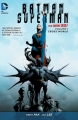 Couverture Batman/Superman (Renaissance), tome 1 : Mondes croisés Editions DC Comics 2014