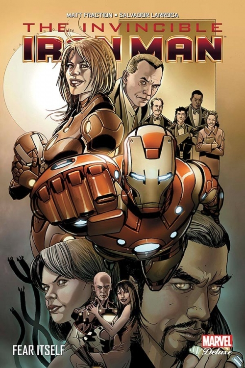 Couverture The Invincible Iron Man, tome 4 : Fear Itself
