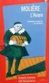 Couverture L'avare Editions Flammarion (GF - Etonnants classiques) 1995