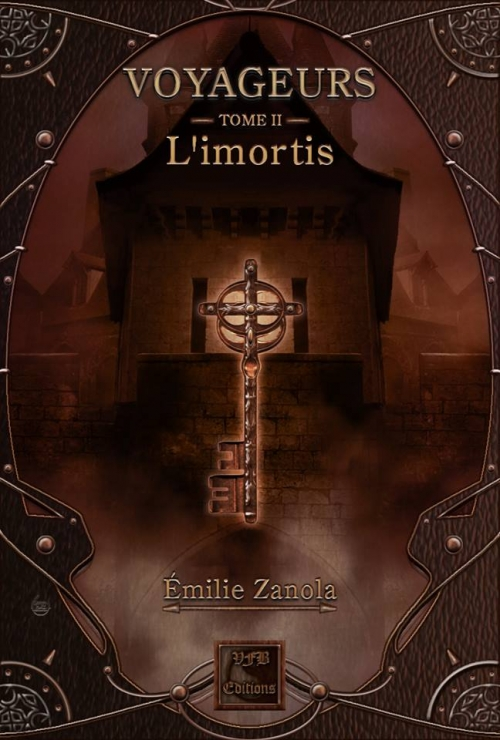 Couverture Voyageurs, tome 2 : L'Imortis