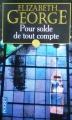 Couverture Lynley et Havers, tome 05 : Pour solde de tout compte Editions Pocket 1996