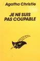 Couverture Je ne suis pas coupable Editions Librairie des  Champs-Elysées  (Le masque) 1988