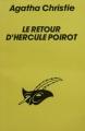 Couverture Le retour d'Hercule Poirot / Christmas pudding Editions Librairie des  Champs-Elysées  (Le masque) 1989