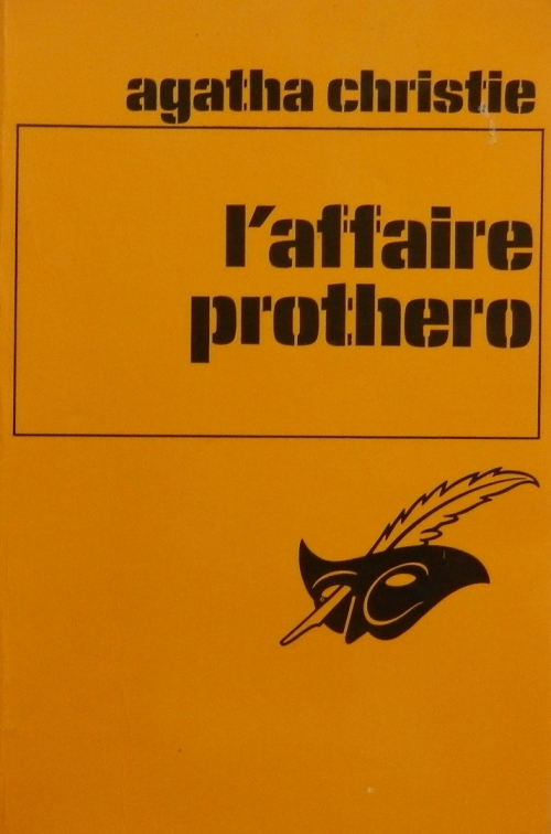 Couverture L'Affaire Protheroe