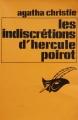 Couverture Les indiscrétions d'Hercule Poirot Editions Librairie des  Champs-Elysées  (Le masque) 1976